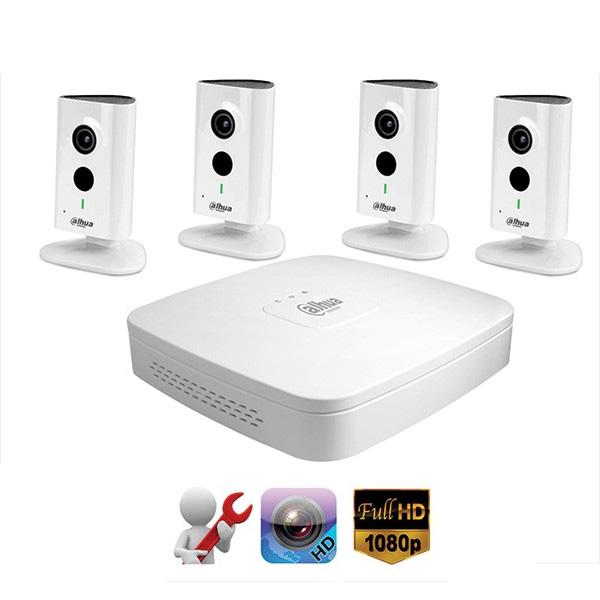 Hệ thống Camera IP không dây DAHUA wifi siêu nét HD720P