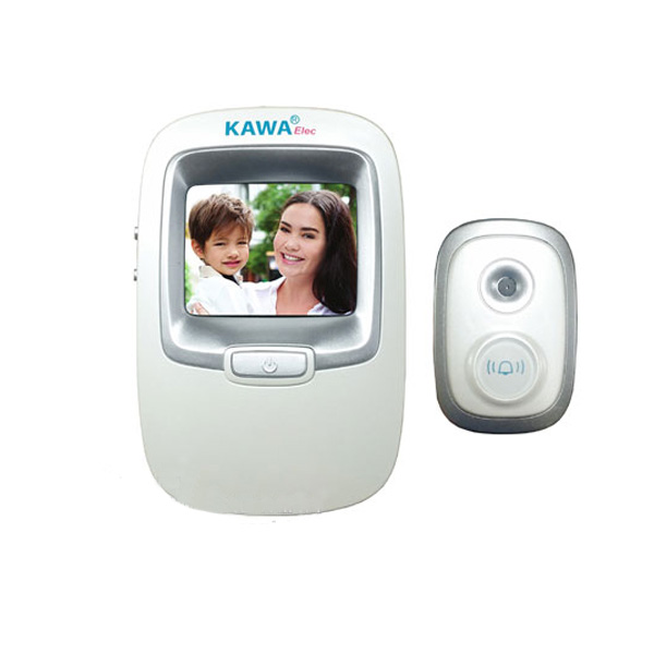 Chuông cửa màn hình căn hộ Kawa DV001