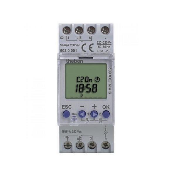 Công tắc hẹn giờ kỹ thuật số Theben Simplexa-601