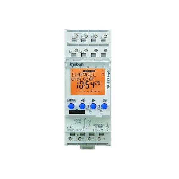 Công tắc hẹn giờ kỹ thuật số Theben TR 610 Top2 (1 output)
