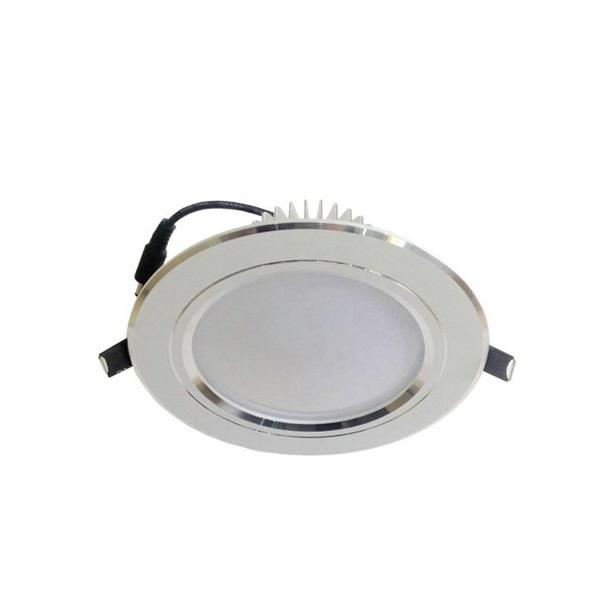 Đèn Led downlight âm trần 3 màu 7W - Ø90