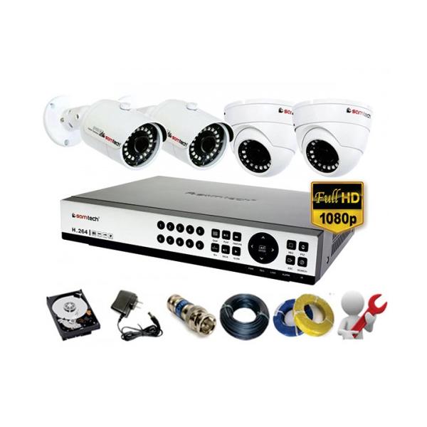 Bộ Camera AHD Samtech cao cấp Full HD1080P