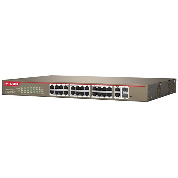 Bộ chia mạng IP-COM S3300-26-PWR-M 24 port POE