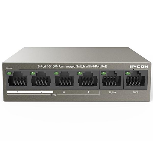 Switch IP-COM POE F1106P-4-63W