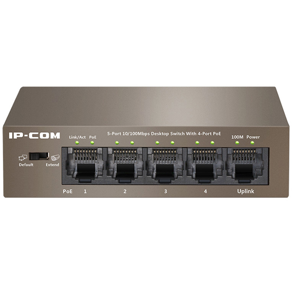 Switch IP-COM POE S1105-4-PWR-H