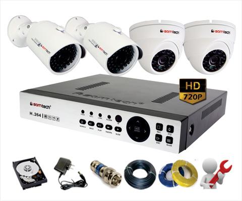 Bộ Camera HD giá rẻ siêu nét HD720P