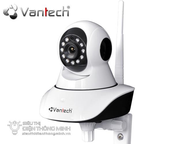 Camera IP quay quét Vantech VT-6300A (HD720P, wifi, thẻ nhớ)