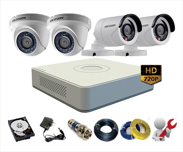 Bộ Camera HIKVISION siêu nét HD720P