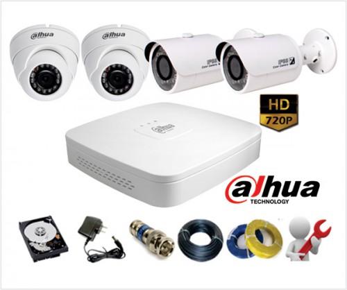 Bộ Camera Dahua siêu nét HD960P (1.4 Megafixel)