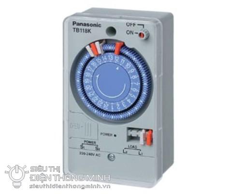 Công tắc hẹn giờ Panasonic TB118 (có pin chờ)