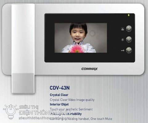 Màn hình chuông cửa COMMAX CDV-43N