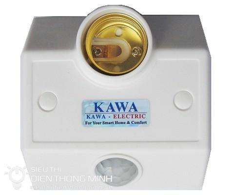 Bật tắt đèn cảm ứng có đui đèn Kawa SS681 (cố định)