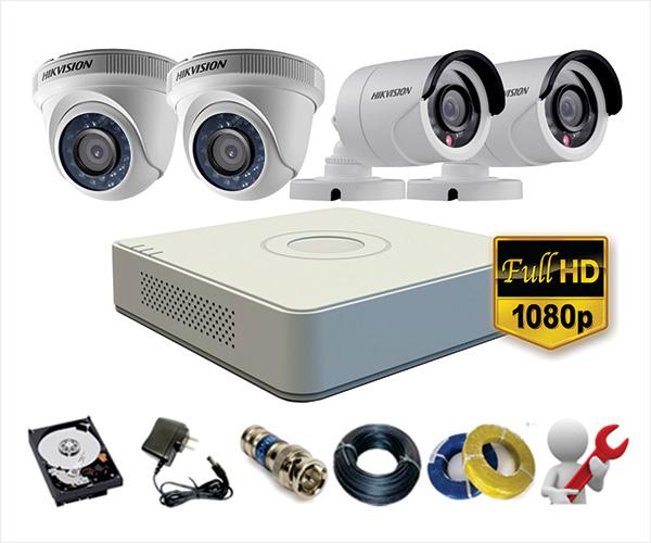 Bộ Camera HIKVISION siêu nét Full HD1080P