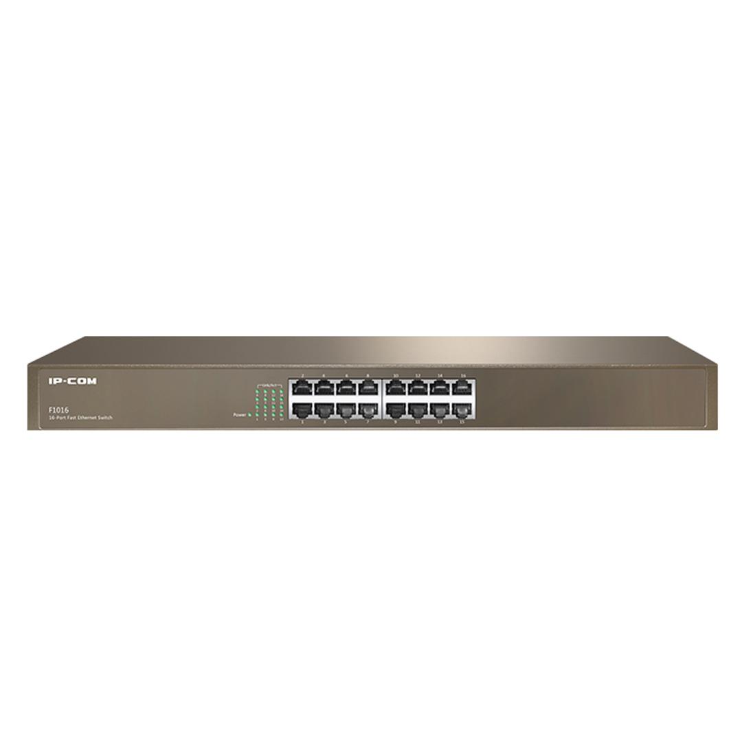 Switch chia mạng 16 cổng IP-COM G1016D (Gigabit)