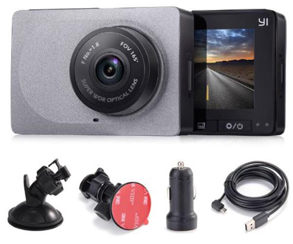 Camera hành trình Xiaomi YI Car Smart Dashcam (Bản quốc tế, góc 165 độ)