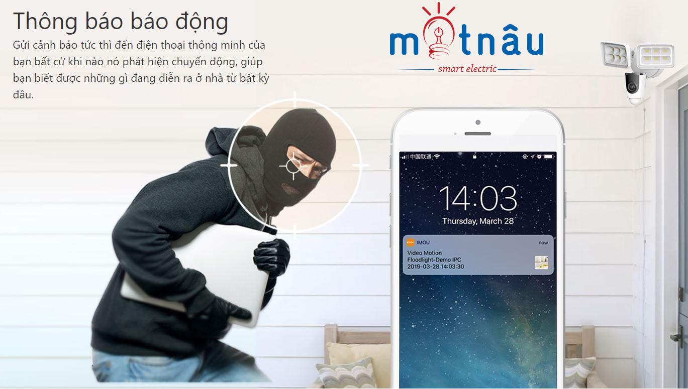 Camera an ninh ipc-l26p giúp chống trộm bảo vệ ngôi nhà bạn hiệu quả