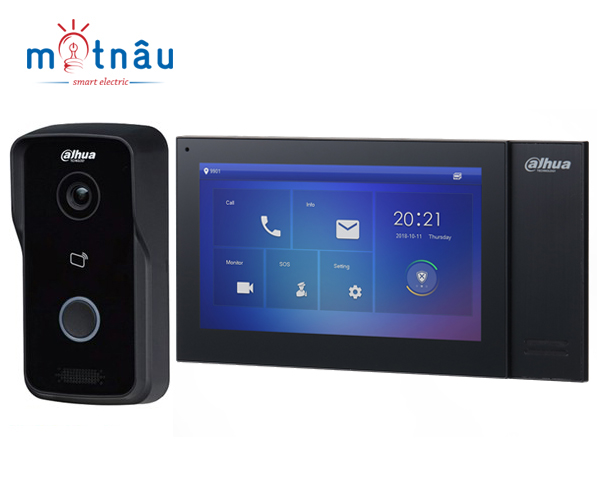Bộ chuông hình IP Dahua VTH2421FB-P-VTO2111D