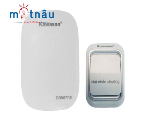Bộ chuông gọi cửa không dây Kawa DB667CE