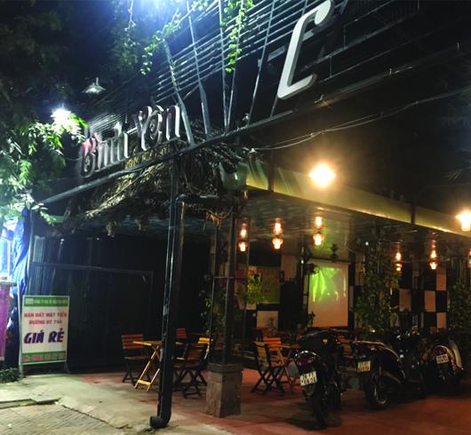 Quán Cafe Bình Yên