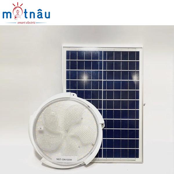 Đèn ốp trần sử dụng năng lượng mặt trời NLMT-55100(100W)