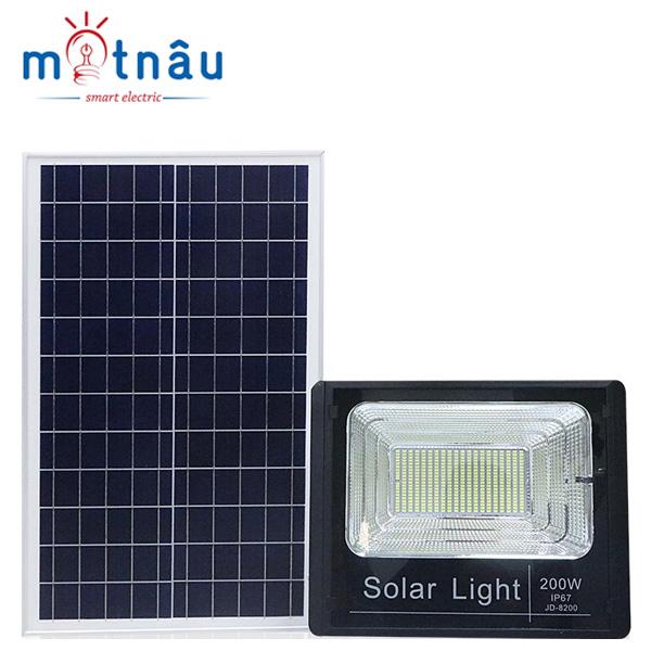 Đèn led năng lượng mặt trời VR-8200 (200w)
