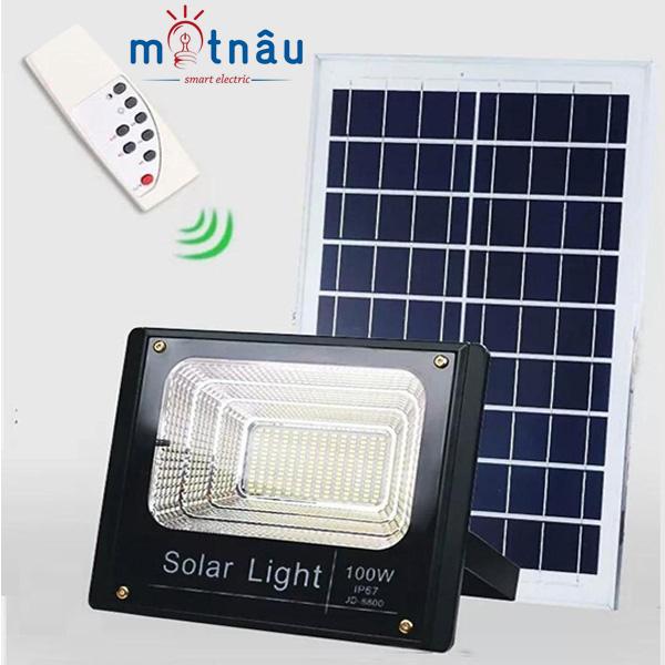 Đèn led năng lượng mặt trời VR-8800 (100w)