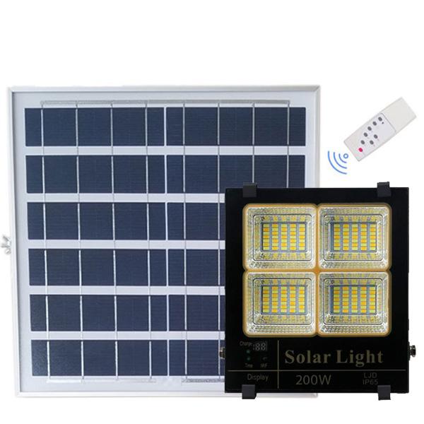 Đèn led năng lượng mặt trời VR85200L (200w)