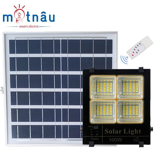 Đèn led năng lượng mặt trời VR85100L (100w)