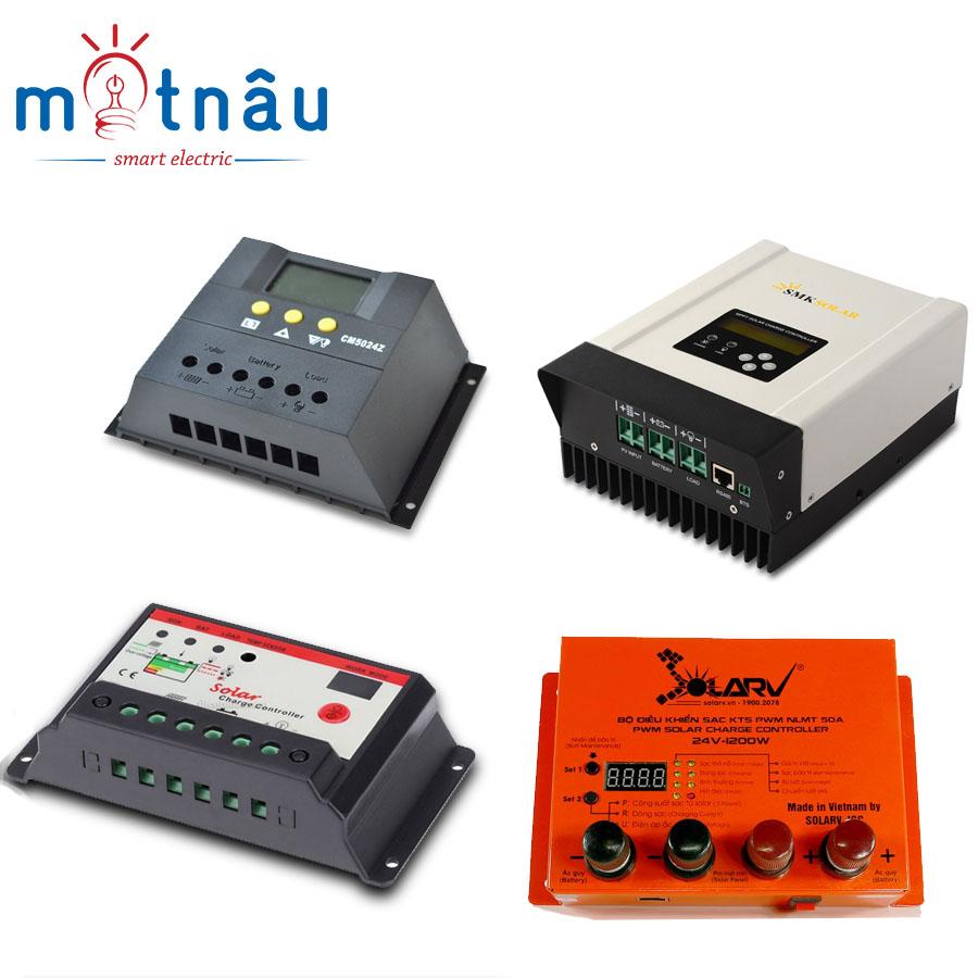 Bộ điều khiển sạc cho  tấm pin của đèn năng lượng mặt trời
