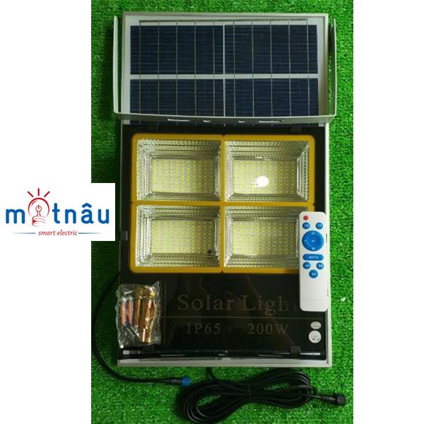 Đèn led năng lượng mặt trời VR84100 (100w)