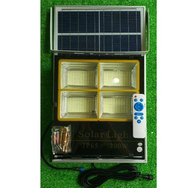 Đèn led năng lượng mặt trời VR84200 (200w)