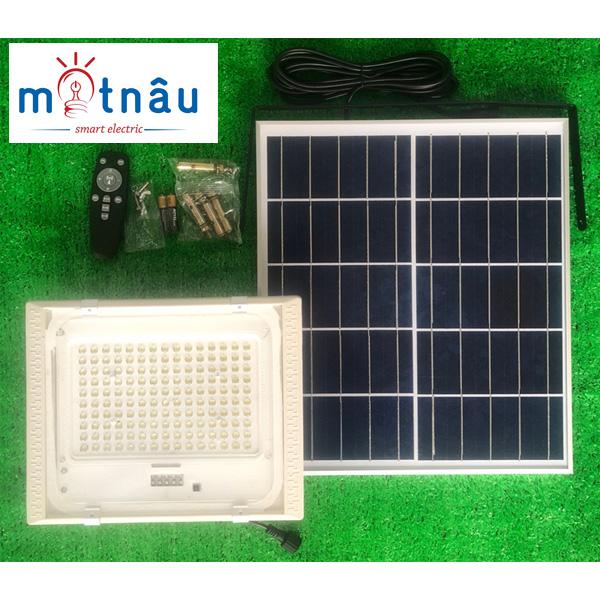 Đèn led năng lượng mặt trời VR87150-PIR (150w), có cảm biến chuyển động