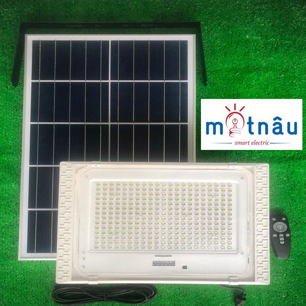 Đèn led năng lượng mặt trời VR87300-PIR (300w), có cảm biến chuyển động