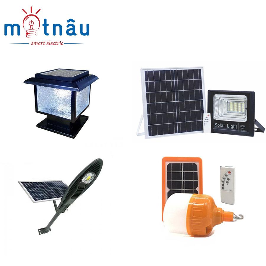 Các loại đèn năng lượng mặt trời phổ biến