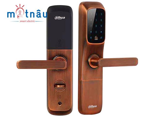 Khóa cửa căn hộ thông minh Dahua DHI-ASL6101R (đỏ đồng)