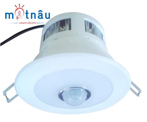Bóng đèn Led cảm ứng hồng ngoại âm trần Kawa DS7W