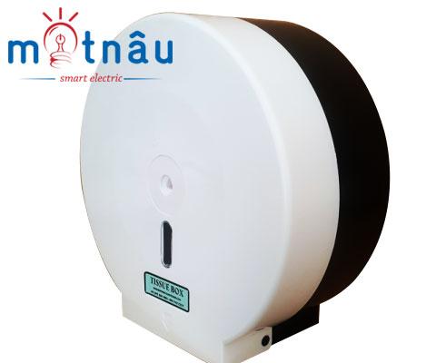 hộp đựng giấy vệ sinh cuộn lớn trắng PH120B-TH10