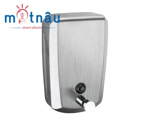 HỘP NHẤN XÀ PHÒNG TREO TƯỜNG INOX MỜ DH - 8141- INOX