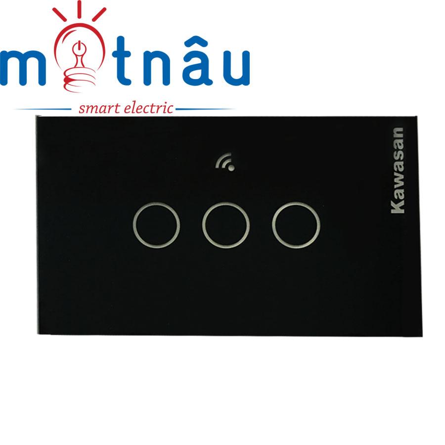 Công tắc cảm ứng chạm CT3B-WIFI