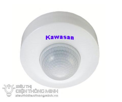 Bật tắt đèn cảm ứng gắn trần Kawa SS282 (3PIR)