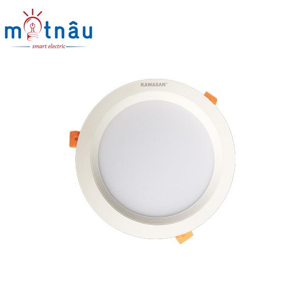Đèn led âm trần 3 chế độ màu DL150-30W-T