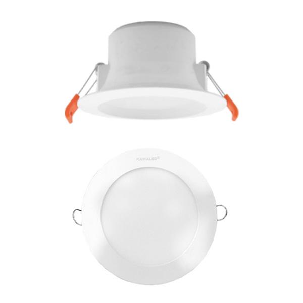 Đèn led âm trần 3 chế độ màu DL3M100-9W