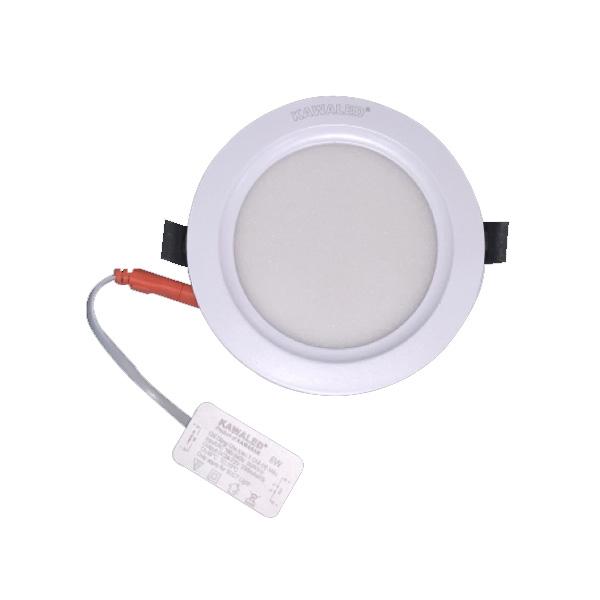 Đèn led panel ( âm trần ) mỏng giật cấp 3 màu cao cấp DL135-A9W-3MCC