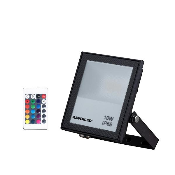 Đèn pha led đổi màu FL10W-RGB2