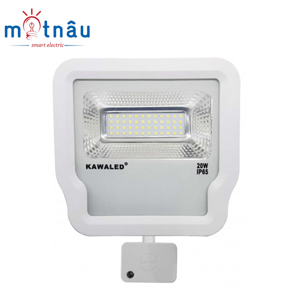 Đèn pha led có sẵn cảm ứng vi sóng FL1R-20W