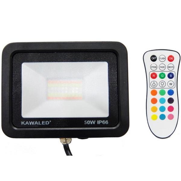 Đèn pha led đổi màu FL50W-RGB