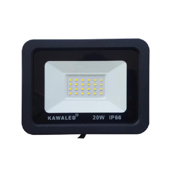 Đèn pha led mỏng có sẵn lỗ lắp cảm ứng hồng ngoại FLH20W-T