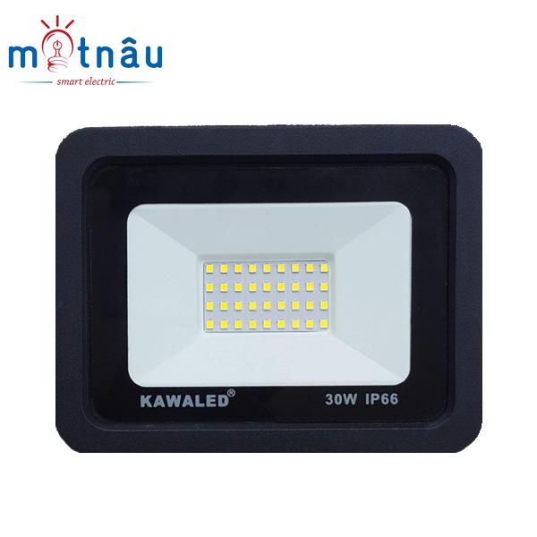 Đèn pha led mỏng có sẵn lỗ lắp cảm ứng hồng ngoại FLH30W-T