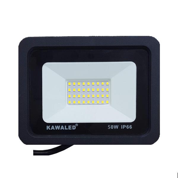 Đèn pha led mỏng có sẵn lỗ lắp cảm ứng hồng ngoại FLH50W-T