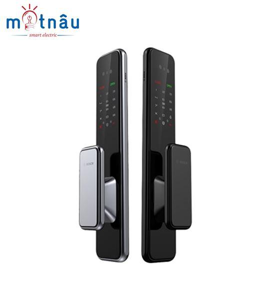 Khóa cửa điện tử Bosch EL600B : Vân tay - Mật khẩu - Thẻ từ - Chìa cơ